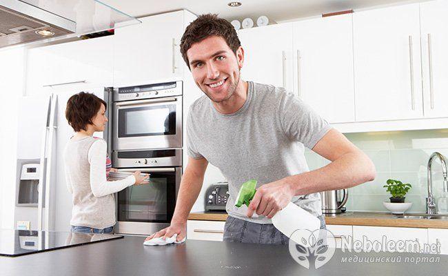Чистота і порядок в будинку