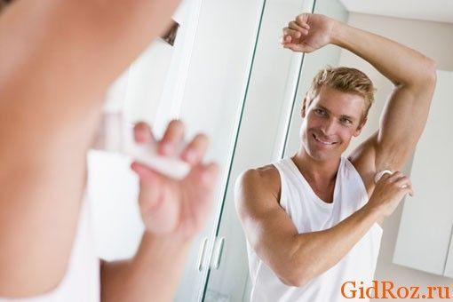 Антиперспірант при гіпергідрозі для чоловіків