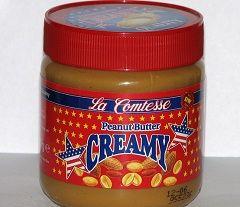 Калорійність арахісової пасти - 598 ккал на 100 г