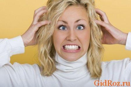Стрес, страх і інші емоційні стани - причина сильного потовиділення!