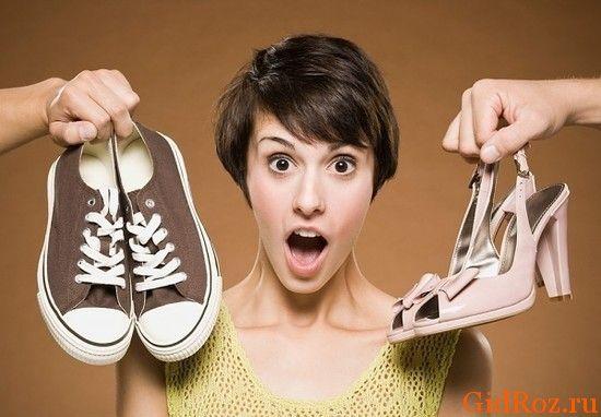 Як усунути запахи з кросівок?