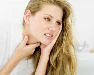 Як вилікувати горло при вагітності