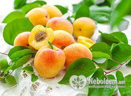 Калорійність абрикосів