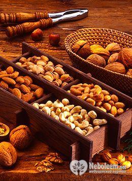 Калорійність кедрових горіхів і фундука