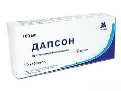 Дапсон - препарат для лікування лепри