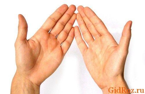 Щось сталося з шкірою рук? На долонях з`явилися пухирці? Не панікуйте, це захворювання не заразне, обумовлено потовиділенням!