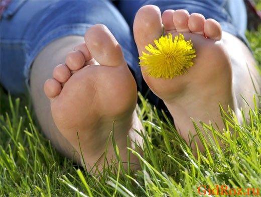 Як зробити, щоб ноги не пахли?
