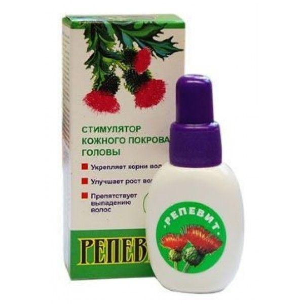 Репевіт - натуральний засіб для зміцнення волосся