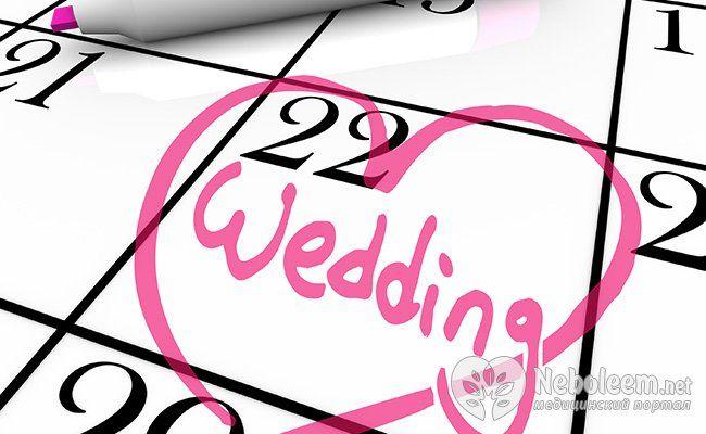 Поради при підготовці до весілля