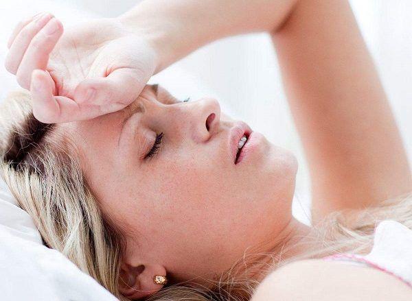 Нудота і головний біль