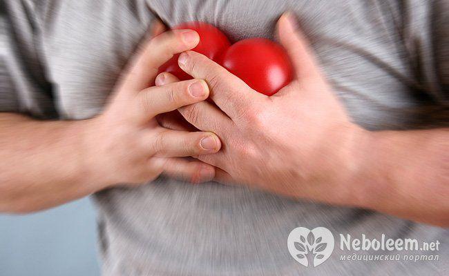 Серцева недостатність, інфаркт