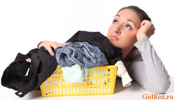 Прибираємо сліди поту з одягу