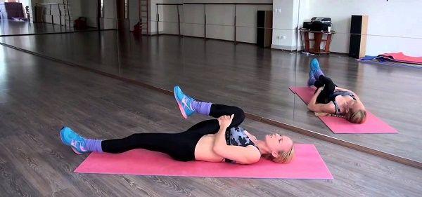Вправи при затисканні сідничного нерва