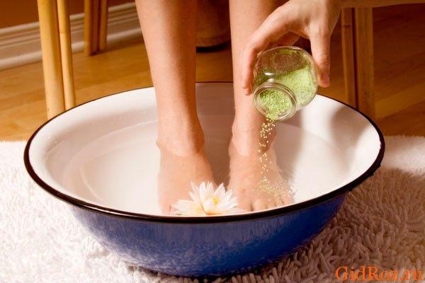 Ванночки для рук і ніг від поту і неприємного запаху